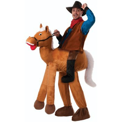 Adult Ride A Horse Piggyback Costume
