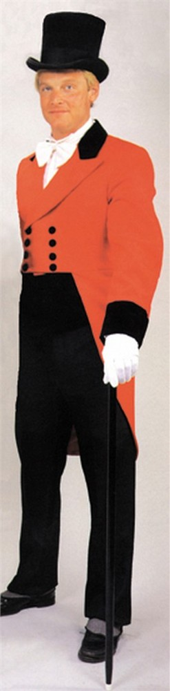 Adult Ringmaster Costume Coat and Vest