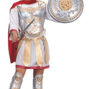 Adult Roman Gladiator Costume with Cape