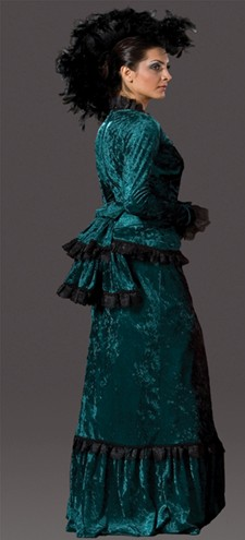 "Adult ""Sadie"" Victorian Dress - Turquoise"