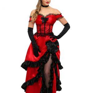 Adult Saloon Girl Costume