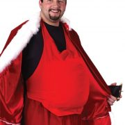 Adult Santa Costume Belly