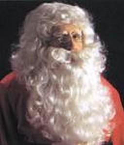 Adult Santa Wig and Beard Costume