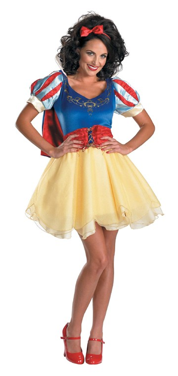 Adult Sassy Snow White Prestige Costume