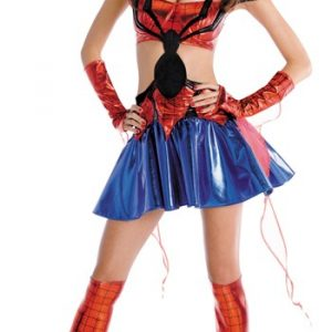 Adult Sassy SpiderGirl Prestige Costume