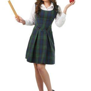 Adult School Girl Plus Size Costume