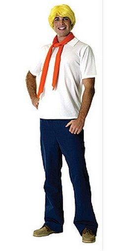 Adult Scooby Doo Fred Costume