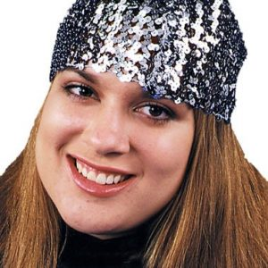 Adult Sequin Cloche Hat