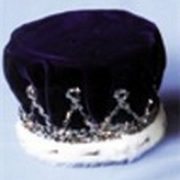 Adult Sequin Crown with Turban