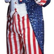 Adult Sequin Uncle Sam Costume