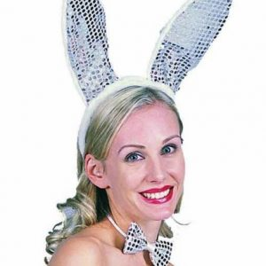 Adult Sequined Bunny Ears