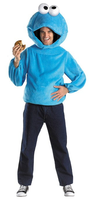 Adult Sesame Street Cookie Monster Costume