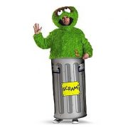 Adult Sesame Street Oscar the Grouch Costume