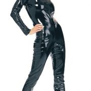 Adult Sexy Black Cat Suit