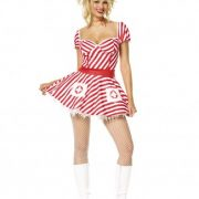 Adult Sexy Candy Striper Costume