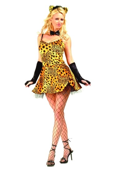 Adult Sexy Cheetah Costume