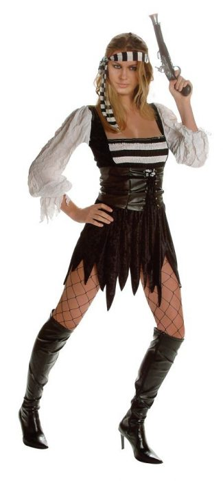 Adult Sexy Classic Pirate Costume