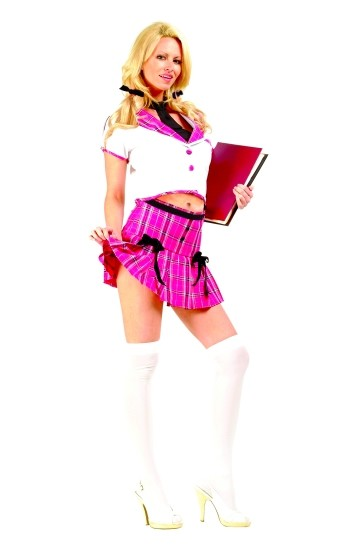 Adult Sexy College Girl Costume