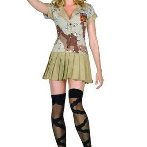Adult Sexy Commando Cutie Costume
