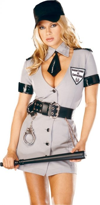 Adult Sexy Corrections Officer Costume