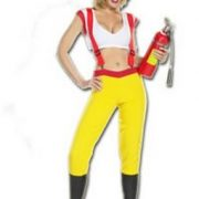 Adult Sexy Fire Fighter Costume