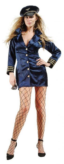Adult Sexy Flight Captain Costume
