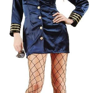 Adult Sexy Flight Captain Costume