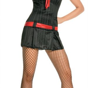 Adult Sexy Gangsta Lady Costume