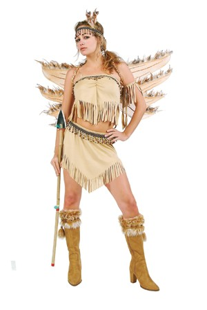 Adult Sexy Indian Maiden Costume