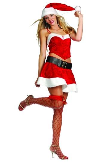 Adult Sexy Miss Santa Costume