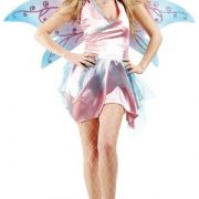 Adult Sexy Pink Fairy Costume