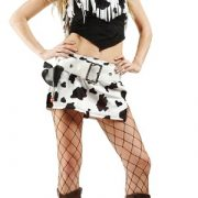 Adult Sexy Pinto Cowgirl Costume