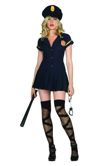 Adult Sexy Police Officer Costume