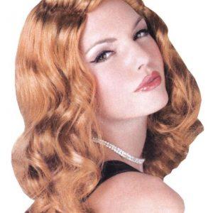 Adult Sexy Screen Siren Auburn Wig