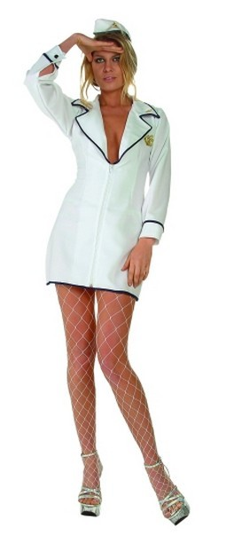 Adult Sexy Ships Ahoy Costume