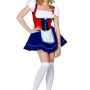 Adult Sexy Swiss Miss Costume