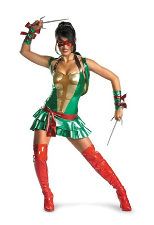 Adult Sexy Teenage Mutant Ninja Turtles Costume