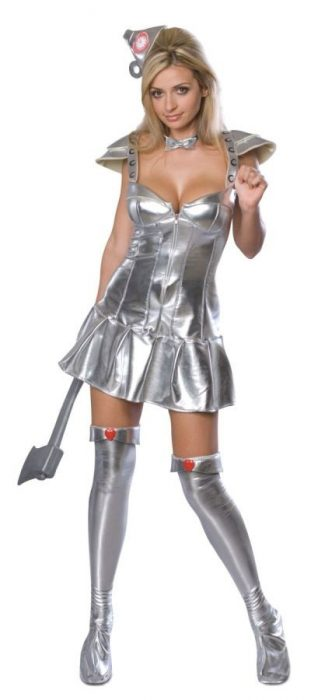 Adult Sexy Tin Woman Costume