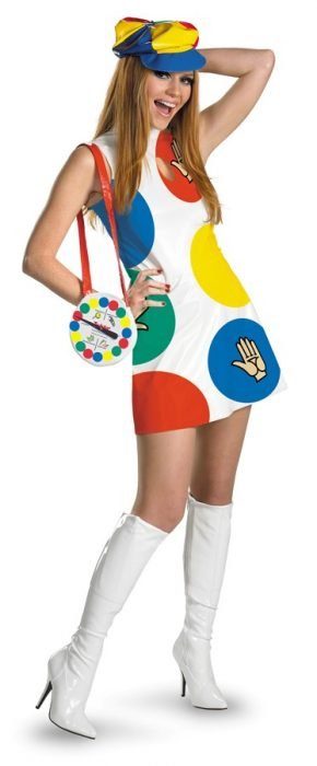 Adult Sexy Twister Costume