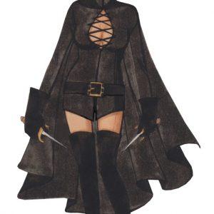 Adult Sexy V for Vendetta Costume
