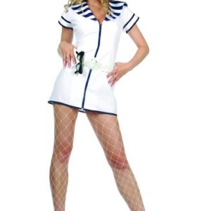 Adult Sexy Vintage Navy Costume