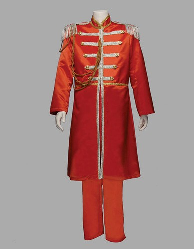 Adult Sgt Pepper Costume ? Red