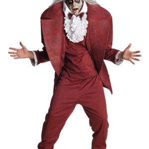 Adult Shrunken Head Beetlejuice Costume