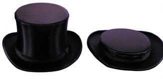 Adult Silk Collapsible Top Hat