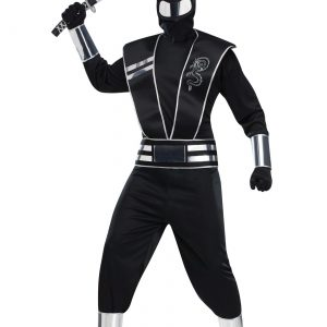 Adult Silver Mirror Ninja Costume