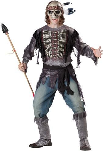 Adult Skeleton Costume - Spirit Warrior