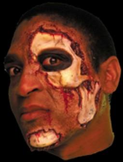 Adult Skin and Bones Latex Prosthetic Makeup