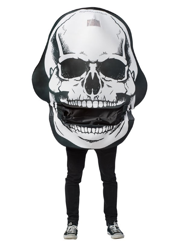 Adult Skull Mouth Head Costume