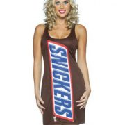 Adult Snickers Costume Dress