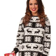 Adult Snow Drift Ugly Sweater